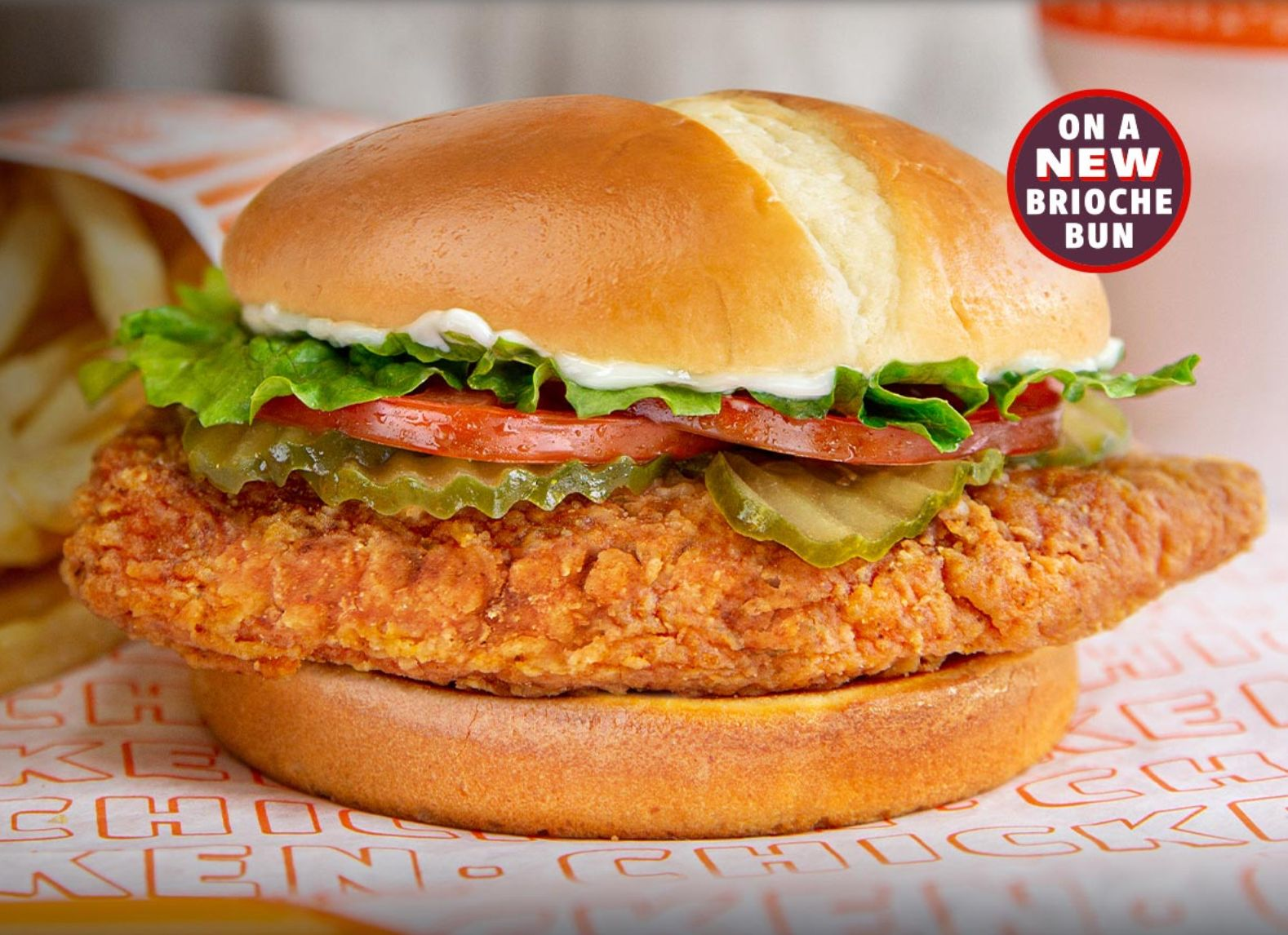 Whataburger Updates their New Spicy Chicken Sandwich with a Brioche Bun