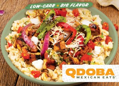 QDOBA Mexican Eats Introduces the New Cauli-Mash Chicken Bowl and Cauliflower Mash