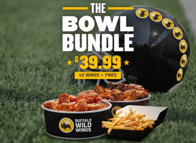 The New $39.99 Bowl Bundle is Touching Down at Buffalo Wild Wings for a Limited Time