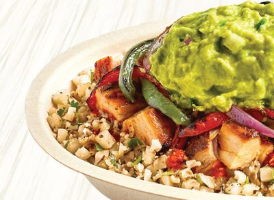 New Cilantro-Lime Cauliflower Rice Now Available at Chipotle