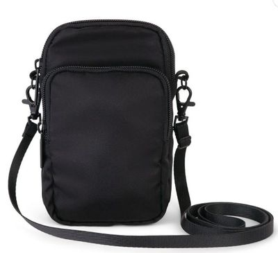 Bugatti Cell Phone Cross Body Bag, Black for $7.47 at Staples Canada