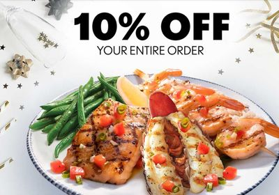Red Lobster Offers My Rewards Members 10% Off with a New Promo Code