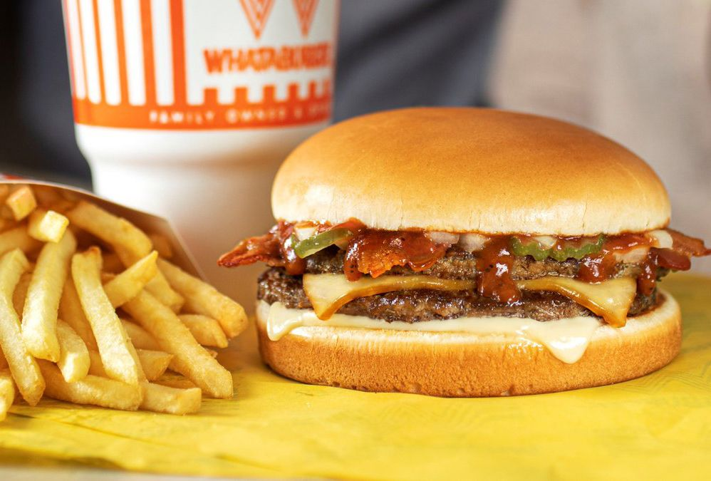 The New Smoky and Meaty BBQ Bacon Burger Arrives for a Limited Time Only at Whataburger