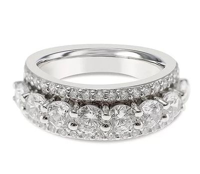 Sterling Silver Cubic Zirconia Ring 132221 For $29.40 At Bitter Sweet Jewellery Canada