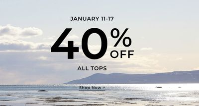 RW&CO. Canada Sale: Save 40% off All Tops + EXTRA 20% Off Sale Styles + More