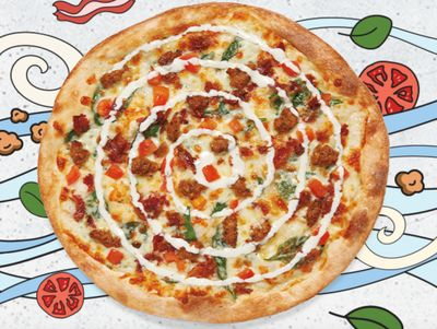 New, Limited Time Only Wayne Pizza Arrives at MOD Pizza Featuring Spicy Chicken Sausage and Bacon