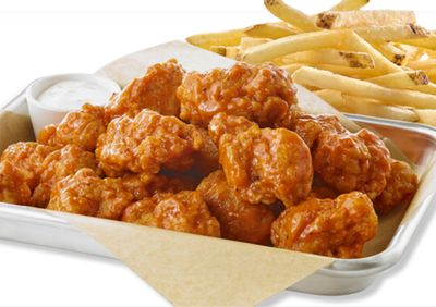 Buffalo Wild Wings is Now Offering a New $9.99 Bundle with 10 Boneless Chicken Wings and Fries