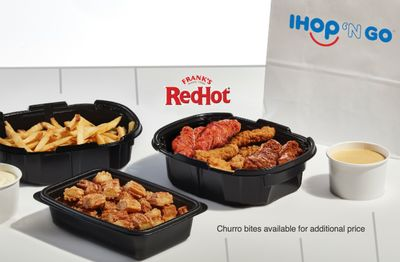 IHOP Launches the New Game Day Family Feast with Chicken Strips and Fries for IHOP 'N Go Orders