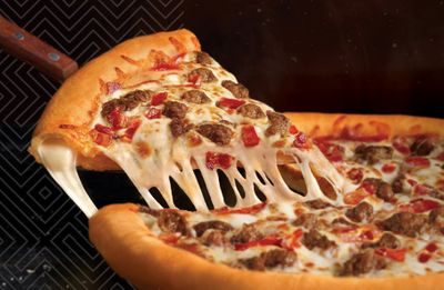 $21.99 Stuffed Crust Savory Sausage & Bacon Pizza Arrives at Round Table Pizza for a Limited Time Only