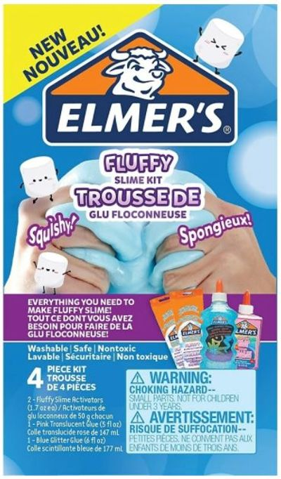 Elmer's Fluffy Slime Kit - 4 Pieces (2982774) For $11.97 At Staples Canada