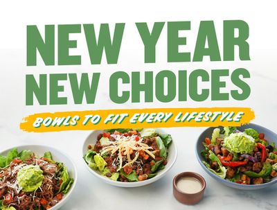 QDOBA Mexican Eats Dishes Up New Low-Cal or Paleo Bowls & Salads