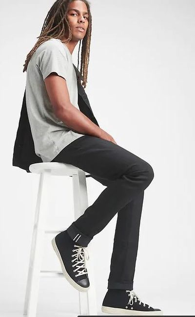 Selvedge Skinny Jeans with GapFlex For $73.99 At GAP Canada