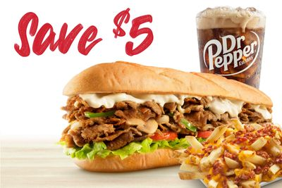 Save $5 When You Newly Download the Charleys Philly Steaks App