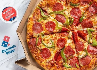Get 2 Medium 2 Topping Carryout Pizzas at Domino's Pizza for Only $5.99 Each