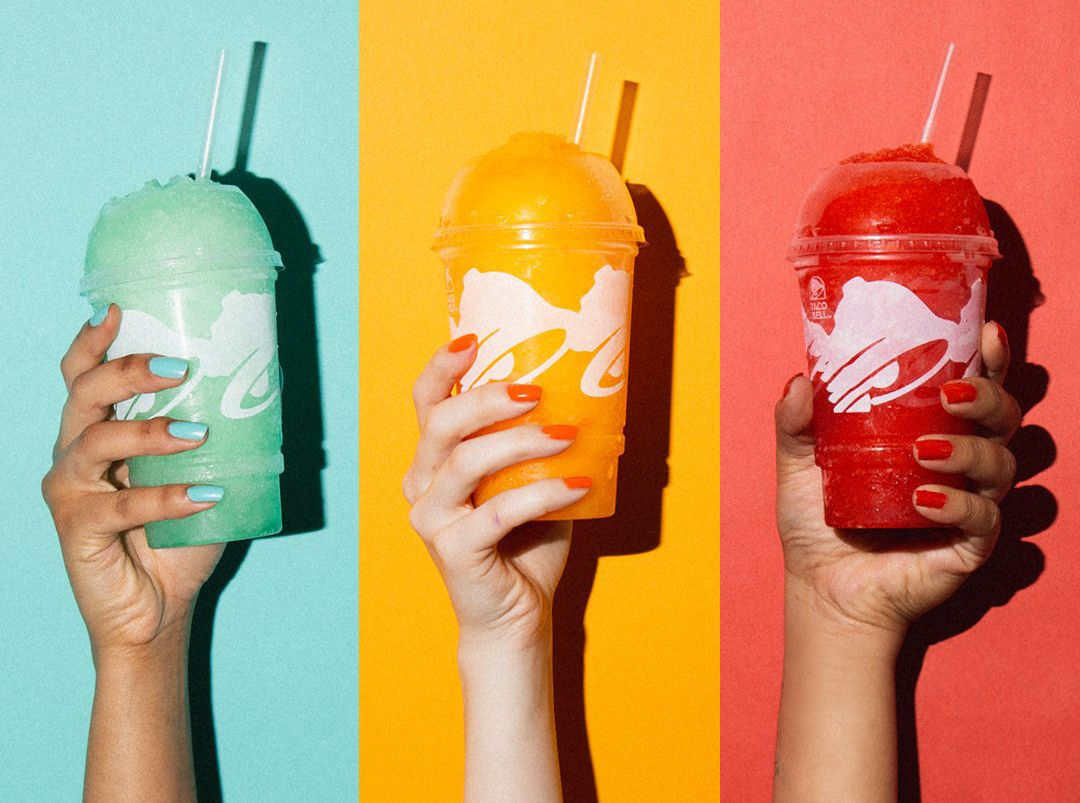 Celebrate Savings at Taco Bell with $1 Happier Hour Drinks and Freezes from 2 PM to 5 PM Daily