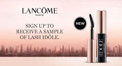 Lancome Canada: Get A Free Sample of Lash Idole Mascara!