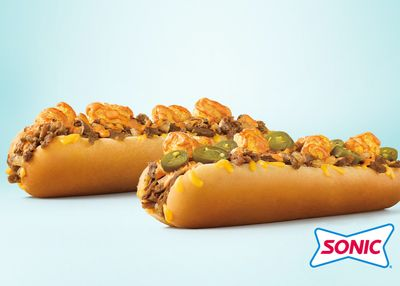 The New Cheesy and Meaty Extra Long Ultimate Cheesesteak Arrives at Sonic Drive-in for a Limited Time
