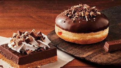 Tim Hortons Canada NEW KitKat Baked Goods & Beverages