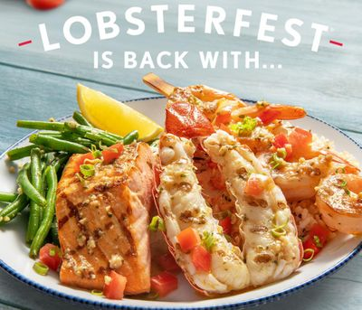Red Lobster's Classic Lobster, Shrimp and Salmon Meal Returns with Lobsterfest