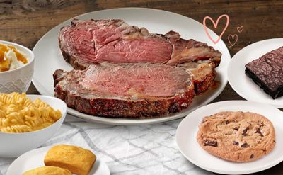 Boston Market Premiers the Valentine's Day Prime Rib Bundle for 2 Available In-Restaurant for $40