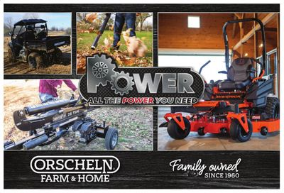 Orscheln Farm and Home Weekly Ad Flyer February 3 to December 31