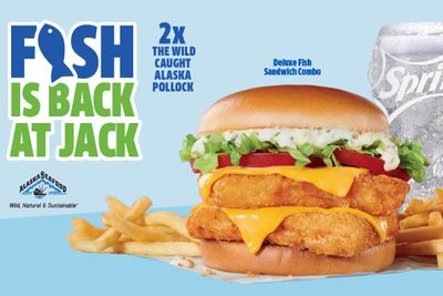 Jack In The Box Welcomes Back the Deluxe Fish Sandwich Combo
