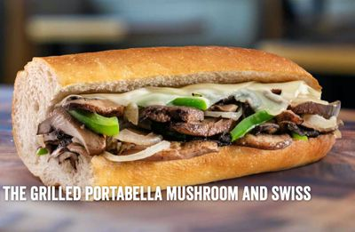 The New Grilled Portabella Mushroom & Swiss Sub is Introduced at Jersey Mike's Subs