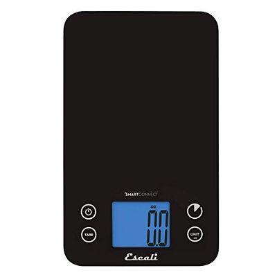 Escali SC115KS SmartConnect Kitchen Digital Scale, 1 Count, Black - 11 lb $57 (Reg $96.99)