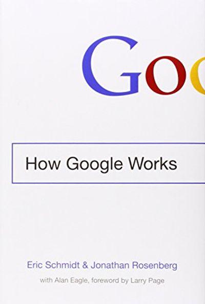 How Google Works $18.5 (Reg $33.00)