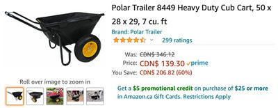 Amazon Canada Deals: Save 60% on Heavy Duty Cub Cart + 44% on 3 Trays Desktop Organizer + 49% on Soft Weighted Blanket + More Offers
