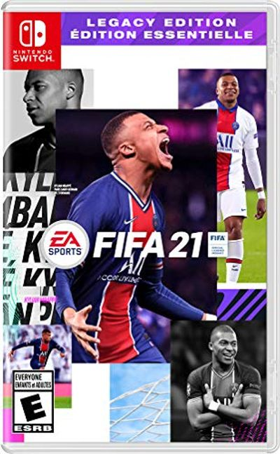 Fifa 21 - Nintendo Switch Games and Software $29.96 (Reg $49.99)