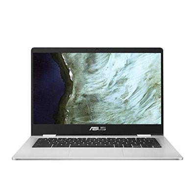 "Asus Chromebook 14"" HD NanoEdge Display, Intel Dual-Core Celeron N3350, 4GB Ram, 32GB Emmc - C423NA-RH01T-CB $379 (Reg $399.00)"