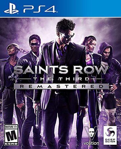 Saints Row The Third Remastered Playstation 4 $28.6 (Reg $33.35)
