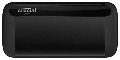 Crucial X8 1TB Portable SSD – Up to 1050MB/s – USB 3.2 – External Solid State Drive, USB-C, USB-A – CT1000X8SSD9 $158.99 (Reg $207.62)