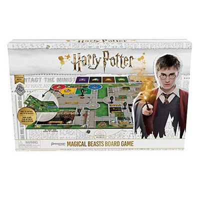 "Pressman Harry Potter Magical Beasts Game, Multi-Color, 5"" $18.67 (Reg $24.95)"
