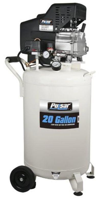 Pulsar PCE6200 Vertical Electrical Air Compressor, 20-Gallon $264.96 (Reg $544.00)