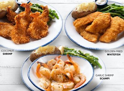 Red Lobster Welcomes the Create Your Own Lunch Deal Starting at $9.99 with Dine In, Delivery or To Go Orders