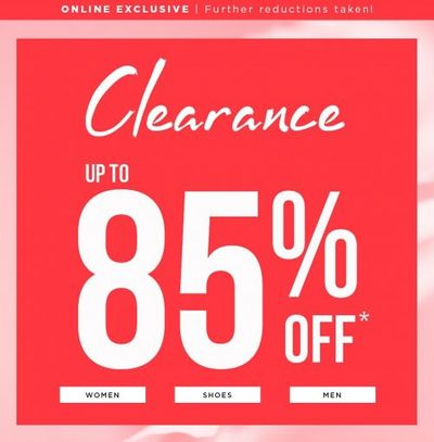 Le Chateau Canada Deals: Save Up to 50% OFF Sale Items + Up to 85% OFF Clearance + Up to 70% OFF Outlet