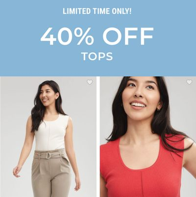 RW&CO. Canada Deals: Save 40% Off Tops + up to 70% Off Sale Styles + More Offers