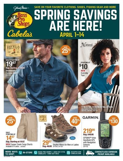 Cabela's Weekly Ad Flyer April 1 to April 14