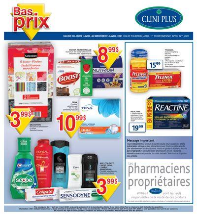 Clini Plus Flyer April 1 to 14