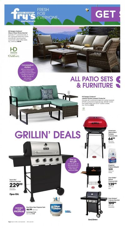 Fry's (AZ) Weekly Ad Flyer March 31 to June 1