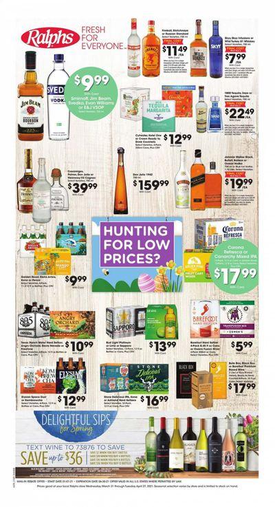 Ralphs (DC, DE, FL, GA, MD, NC, SC, VA) Weekly Ad Flyer March 31 to April 27
