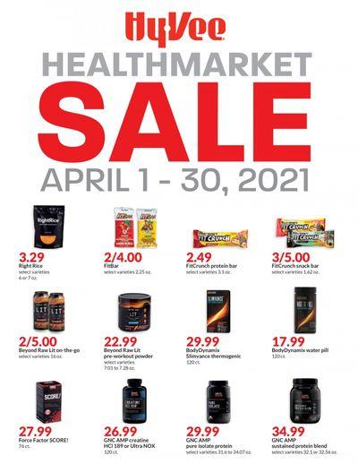 Hy-Vee (IA, IL, KS, MN, MO, NE, SD, WI) Weekly Ad Flyer April 1 to April 30