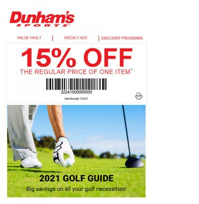Dunham's Sports Weekly Ad Flyer March 19 to July 22