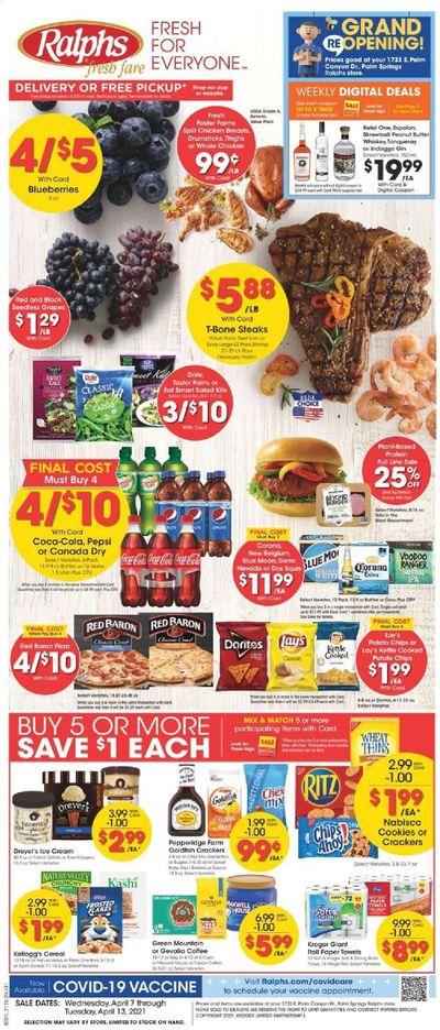 Ralphs fresh fare (DC, DE, FL, GA, MD, NC, SC, VA) Weekly Ad Flyer April 7 to April 13