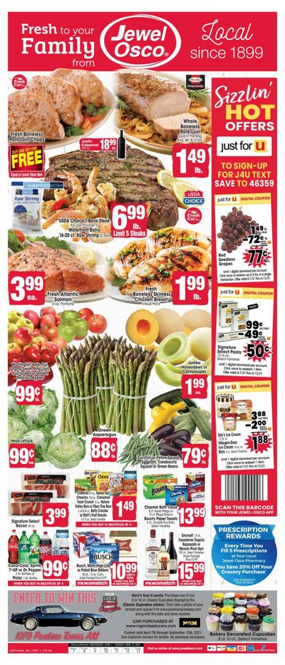 Jewel Osco (IL) Weekly Ad Flyer April 7 to April 13