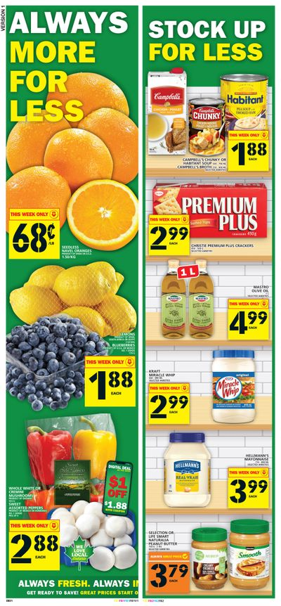 Food Basics Flyer April 8 to 14