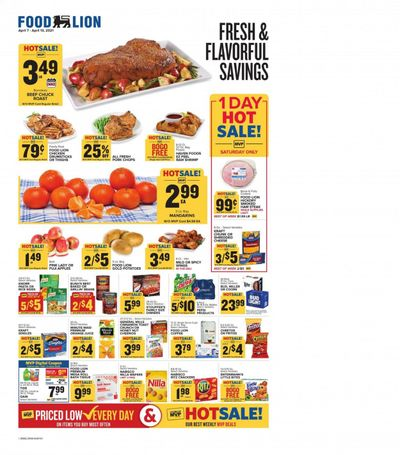 Food Lion (KY) Weekly Ad Flyer April 7 to April 13