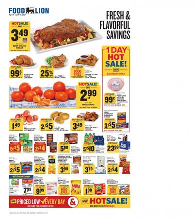 Food Lion (GA) Weekly Ad Flyer April 7 to April 13